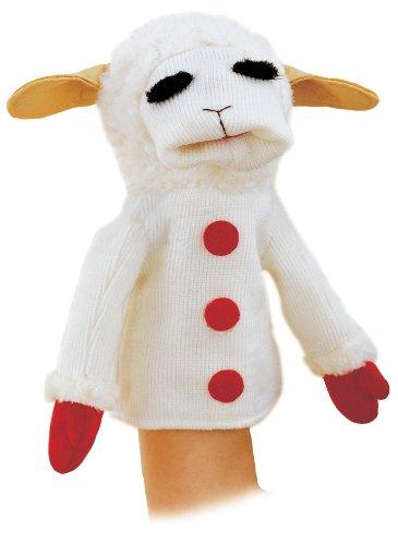 Aurora Plush 12 Lamb Chop Hand Puppet Epic Kids Toys