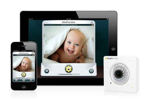 Imagen de BabyPing seguro Wi-Fi monitor de bebé para el iPhone, IPAD y el iPod BABYV002