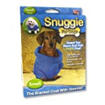 Snuggie for Dogs Blue Colored Fleece...