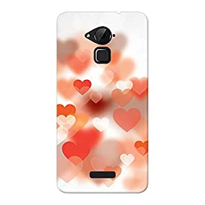 Inkif Printed Designer Case For Coolpad Note 3 Plus Multi-Coloured