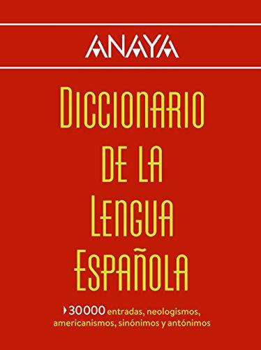 Diccionario Anaya De La Lengua (Vox - Lengua Española - Diccionarios Generales)
