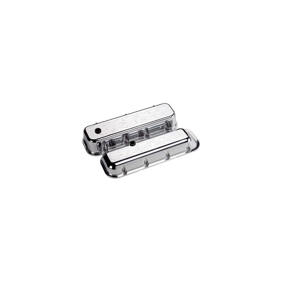 Billet Specialties 96028 BBC VALVE COVERS FLAMED on PopScreen