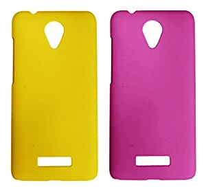 Winsome Deal 2 Pieces of Exclusive Quality Hard Back Cover Case For Micromax Canvas Spark Q380