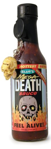 Hot Sauce, Blair's Mega Death Hot Sauce, 5oz
