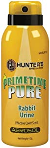 Hunter's Specialties 4-Ounce Prime Time Pure Rabbit Urine
