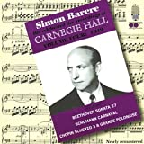 The Simon Barere Carnegie Hall Recordings, Vol. 4: 1949