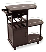 Hot Sale Winsome Wood Entertainment Cart, Espresso