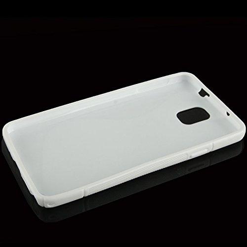 Blanc-S-Line-Wave-Coque-arrire-souple-en-gel-TPU-pour-Samsung-Galaxy-Note-3-Coque