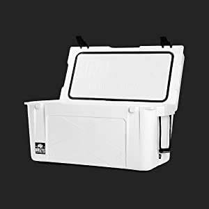 50 Quart Brute Outdoors Cooler in White