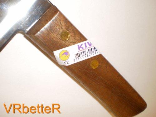 Kiwi 22 Couteau de cuisine thaïlandais avec manche en bois 31,5cm
