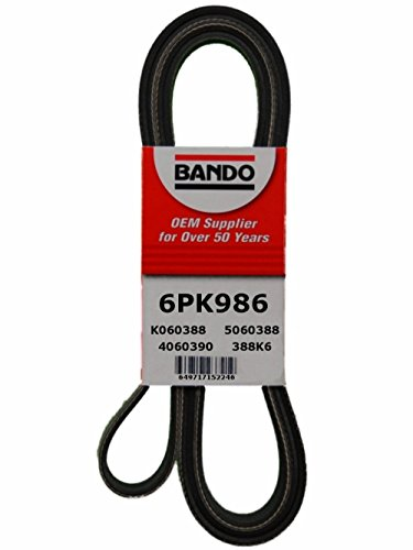 Bando 6PK986 OEM Quality Serpentine Belt primary