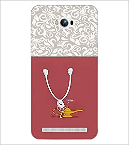 PrintDhaba Funny Image D-3728 Back Case Cover for ASUS ZENFONE MAX ZC550KL (Multi-Coloured)