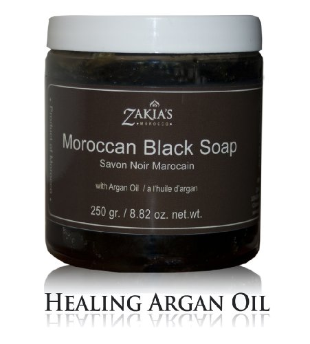Moroccan Black Soap with Argan Oil