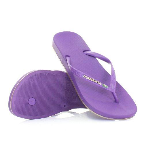 Womens Ipanema Beach Purple Sandals Flip Flops SIZE 3-8