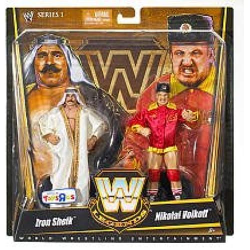 WWE 레전드 2팩 #01 아이언 시크 & 니콜라 이  보루코후