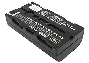 Replacement battery for IDC-1000, IDC-1000Z, IDC-1000ZU, Xacti NV-HD500, Xacti NV-KD100, Xacti NV-DV35