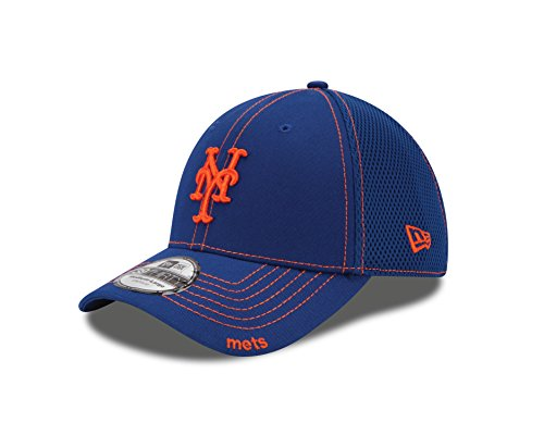 MLB New York Mets NEO 39Thirty Stretch Fit Cap, Large/X-Larg