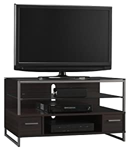 Bush furniture ara collection tv stand home entertainment center furniture Home theater furniture amazon