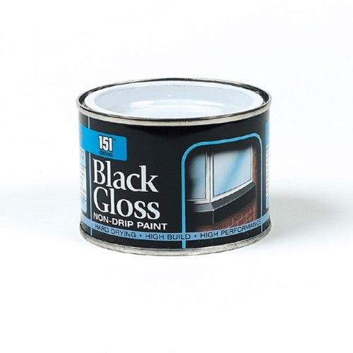 180ml Coatings: Iron Gate Black Gloss Paint