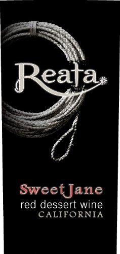 "Nv Reata Sweet Jane ""Port Style"" California Dessert Wine 500 Ml"