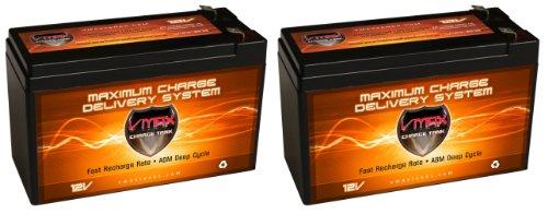 Razor E200 Batteries: 2 Pack Of Vmax63 12V 10Ah Agm Sla Fresh Batteries Replace/ Upgrade Razor E200 Electric Scooter Batteries