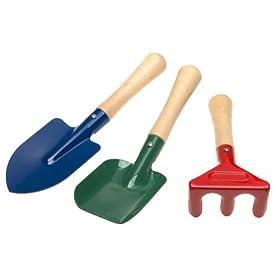 Toysmith 2296 Kid's Gardening Hand Tool Set