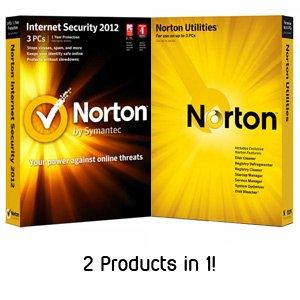 Norton Internet Security 2012 & Norton Utilities (3 User Bundle)
