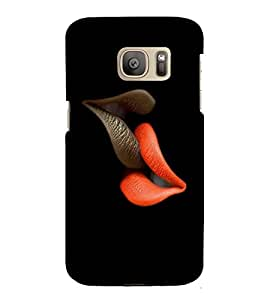 GADGET LOOKS PRINTED BACK COVER FOR SAMSUNG GALAXY S7 EDGE MULTICOLOR