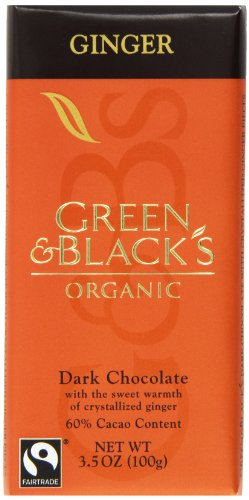 Green & Black's Organic Chocolate, 3.5-Ounce Bars (Pack of 10)