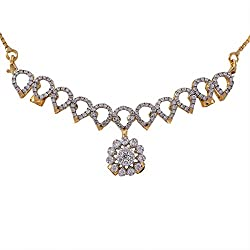 Joyalukkas Pride Diamond Collection 18K Yellow Gold and Diamond Pendant