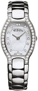 Ebel Women's 9656G28/9991070 Beluga Tonneau Mother-Of-Pearl Diamond Dial Watch by Ebedee