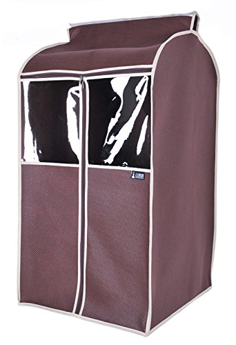 Sturdy Breathable Garment Covers Roomy Suit Storage Bag (L, Coffee) (Garment Bag For Closet compare prices)