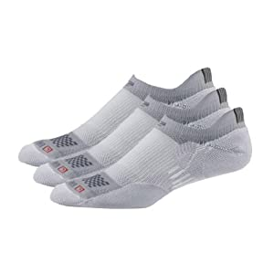 Buy Road Runner Sports Dry-As-A-Bone Medium No Show 3pk by Road Runner Sports