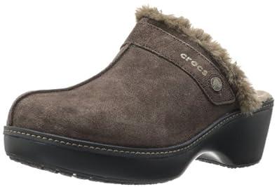 00a698a922b5 crocs Women s 11602 Cobbler Leather Clog