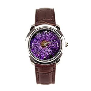 sanYout Wrist Watches For Men Effect Leather Watches Men Angelika Moethrath Mens Wrist Watches Graphic