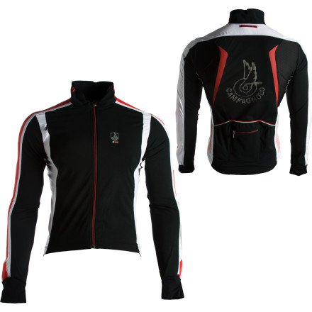 Buy Low Price Campagnolo Sportswear Racing Wind Light TXN Jacket – Men's (B004DVGK8S)