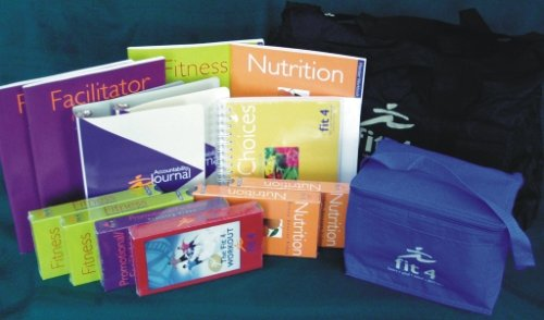 Fit 4 Complete Plan Kit - A Lifeway Christian Wellness Plan (Heart, Soul, Mind And Strength)