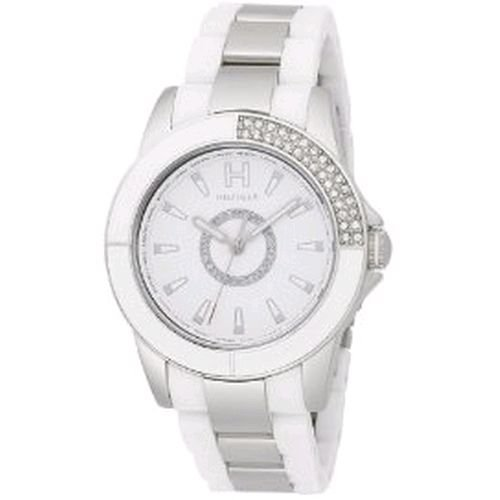 Tommy Hilfiger Women's 1780973 Sport Plastic with Stainless Steel Bracelet Watch