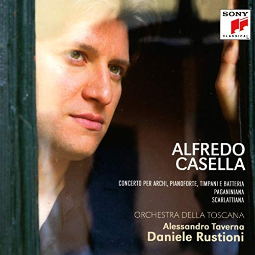 CD : CASELLA, ALFREDO / RUSTIONI, DANIELE - Alfredo Casella: Orchestral Music (With Booklet, Germany - Import)