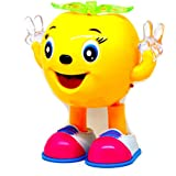 Musical Cartoon Dancing Apple With Colorful Lights Gift Toy For Kids (Color May Vary)