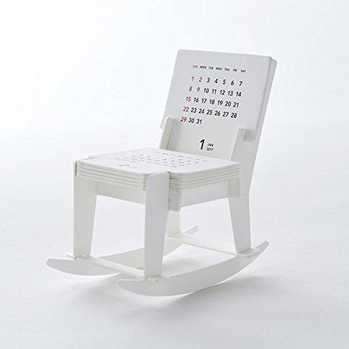 """グッドモーニング 2017 卓上カレンダー """"Rocking Chair"""""""