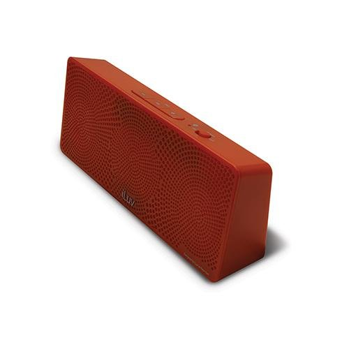 Iluv Mobitour Wireless Bluetooth Speaker For Kindle, Tablet Or Smartphone (Red)