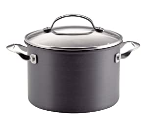 KitchenAid Gourmet Reserved Hard Anodized 4.5-Quart Covered Saucepot