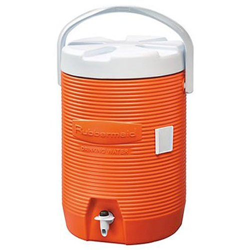 Rubbermaid Victory Jug Water Cooler, Orange, 3-gallon (FG16830111) (Water Jug Orange compare prices)