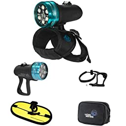 Light & Motion Sola Dive 2000 LED Light with Pistol Grip and Float Strap