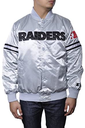 Starter NFL Oakland Raiders Football Team Jacket by Starter
