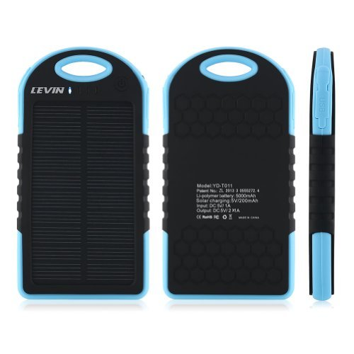 Levin-6000mAh-Solar-Panel-Dual-USB-Port-Portable-Charger-for-Apple-Android-Smart-Phones-and-Tablets-Windows-Phone-Gopro-Camera-Blue