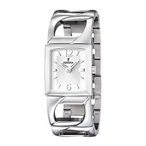 Festina Damen-Armbanduhr Analog Edelstahl F16553/1