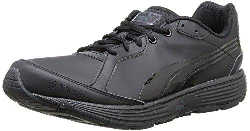 Puma - Descendant Sl Jr, Scarpe Sportive Outdoor per bambini e ragazzi, nero (black/black/black), 38