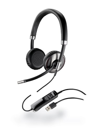 Plantronics Blackwire C720-M Wired Headsets - Retail Packaging - Black
